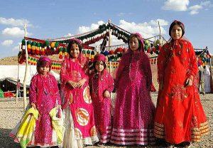 تنبان تورکی لباس محلی فارس
