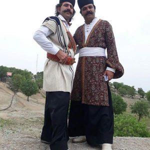 لباس محلی لری مردانه