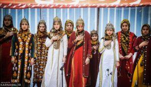 لباس محلی زنان ترکمن