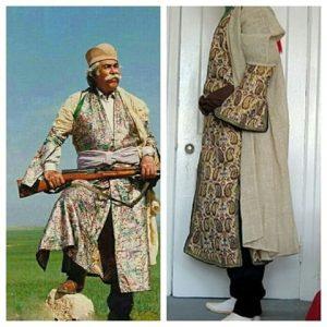 لباس محلی مردانه عشایر فارس