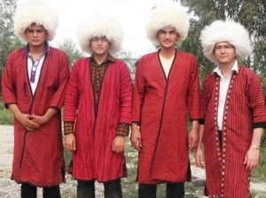 لباس محلی مردانه ترکمن ها