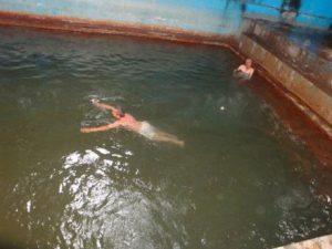 آب گرم یله گنبد در روستای یله گنبد