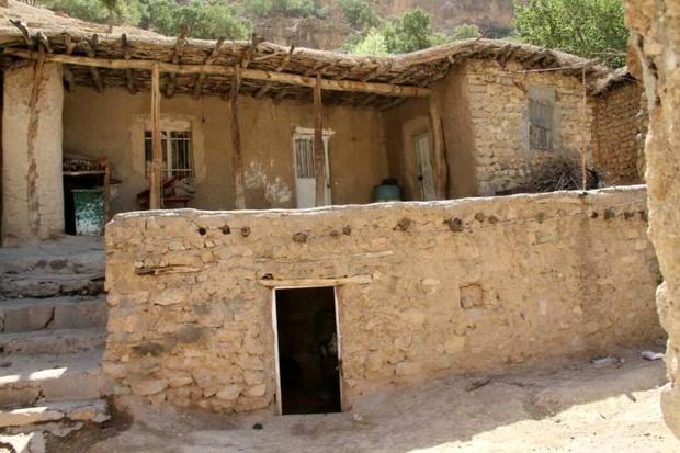 جذب گردشگر با خانه های کاهگلی روستای باباشیخعلی کرمانشاه
