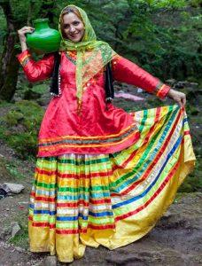 لباس محلی زنانه مازندرانی