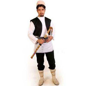 لباس محلی مردانه مازندرانی