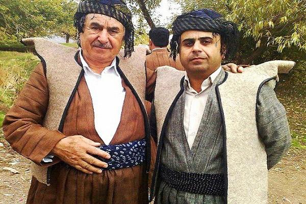 لباس محلی مردان و زنان كردی