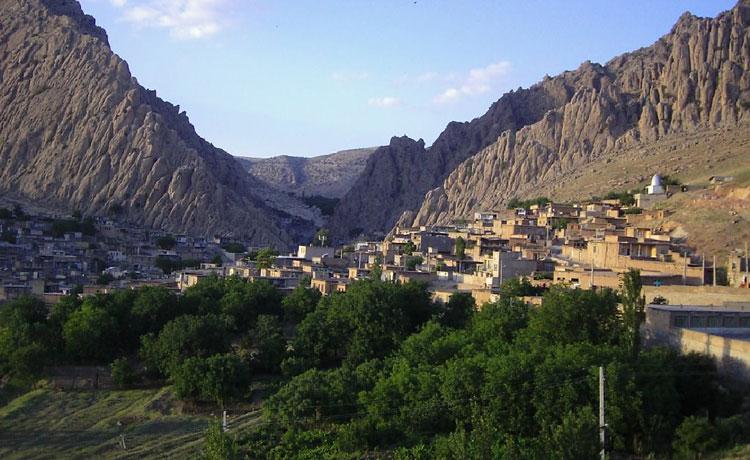 روستای شالان کرمانشاه