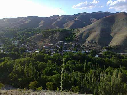 روستای برغان ساوجبلاغ