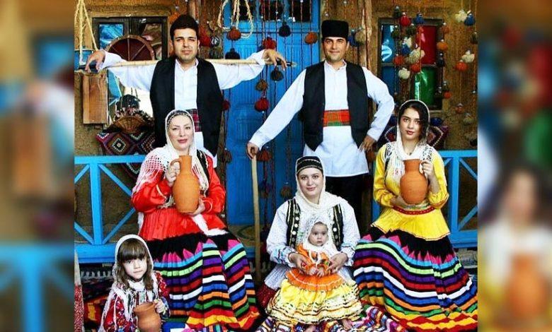 آشنایی با لباس محلی گیلانیان