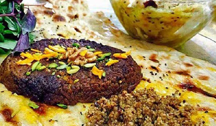 بریانی غذای اصفهانی