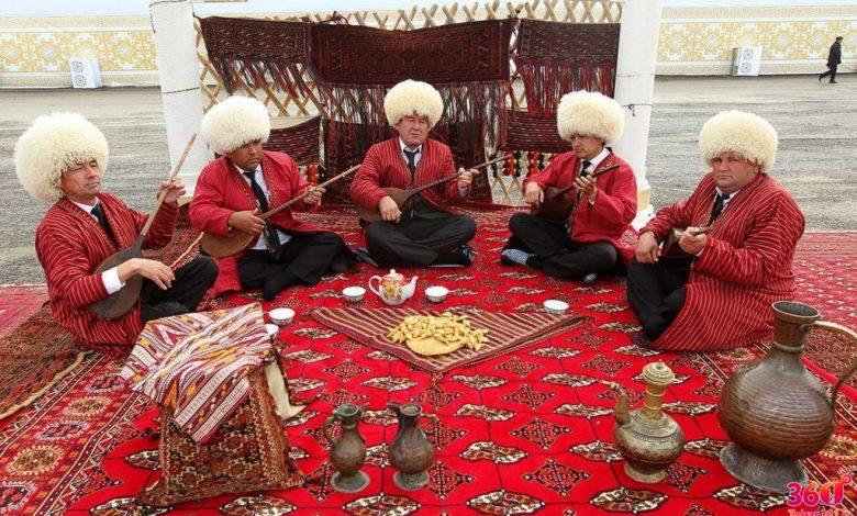 آشنایی با لباس محلی ترکمن ها