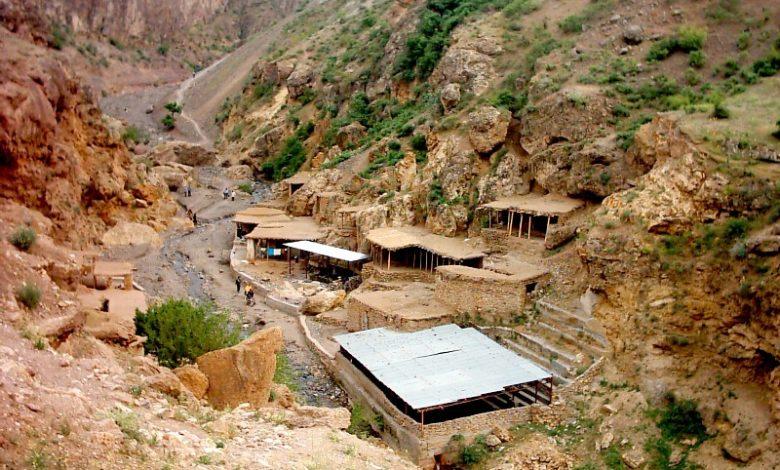 جاذبه های روستای یله گنبد در قزوین