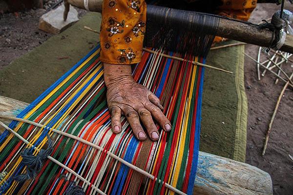 آشنایی با صنایع دستی جاجیم بافی