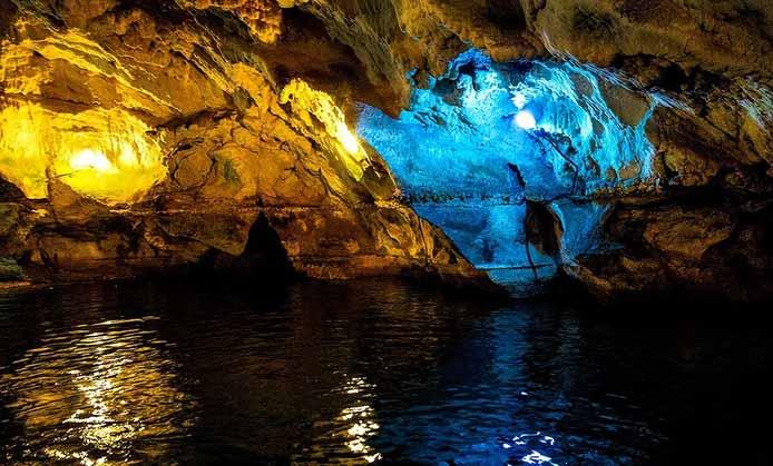 غار جذاب و دیدنی روستای سهولان