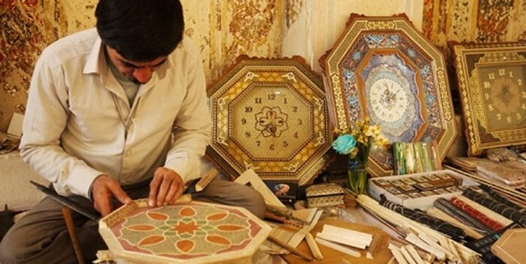 غبار رکود بر صنایع دستی فارس کرونا هنرمندان را خانه نشین کرد