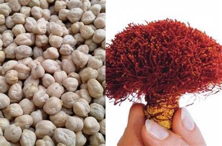 زعفران و نخود از جمله مزیتهای نسبی کشاورزی استان کرمانشاه برای توسعه هستند