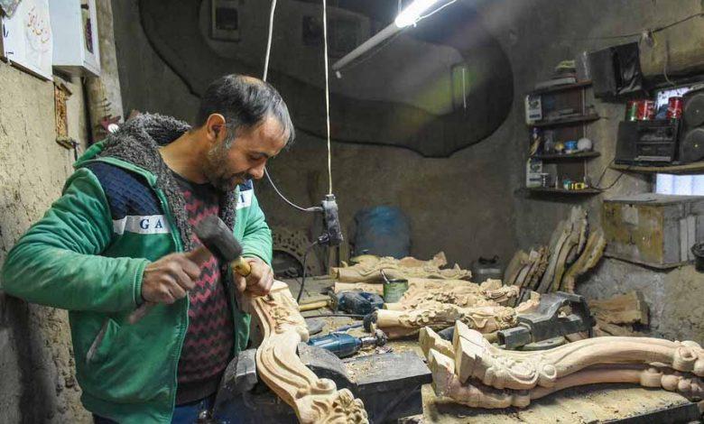 روستای «سمقاور»، پایتخت منبت ایران
