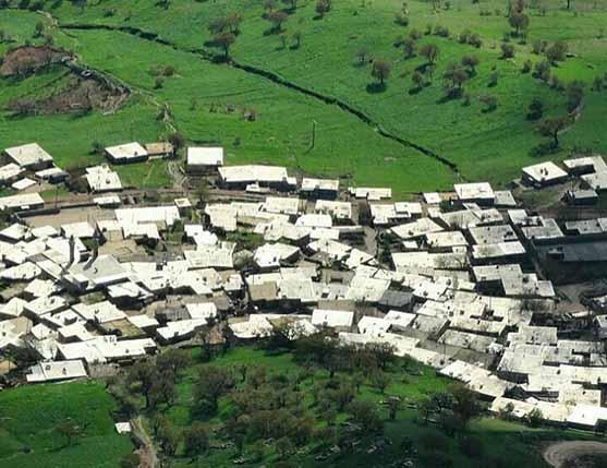 روستای دل در کردستان