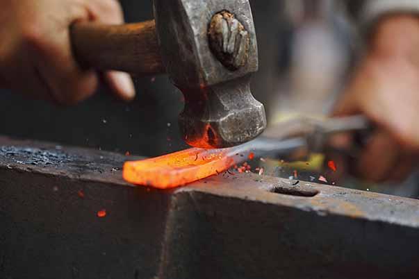 آهنگری سنتی در مازندران