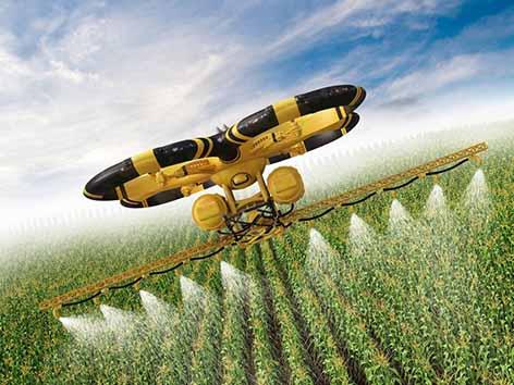استفاده از پهپاد در کشاورزی ۱۵ هزار شغل مستقیم ایجاد میکند