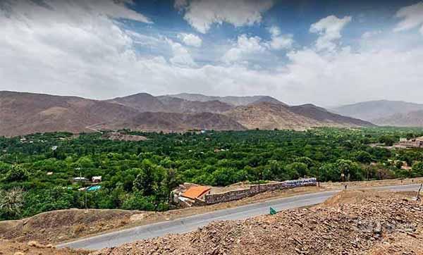 روستای سیرچ در دل کویر کرمان