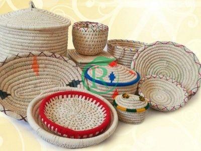 صنایع دستی ساحل هنر – فروش محصولات حصیری خوزستان کپوبافی