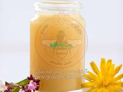 ژل رویال عسل طبیعی گراوان